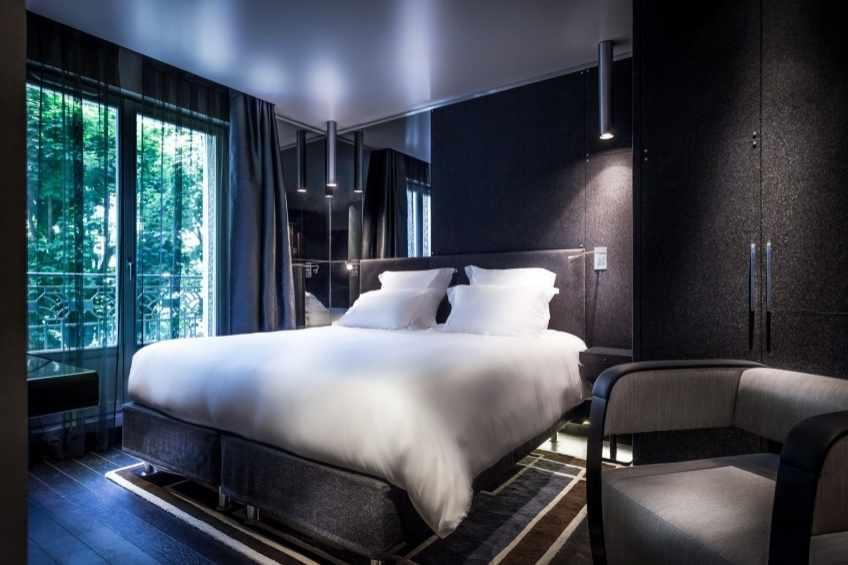 H tel f licien paris design hotel trocadero paris for Hotel design jacuzzi paris